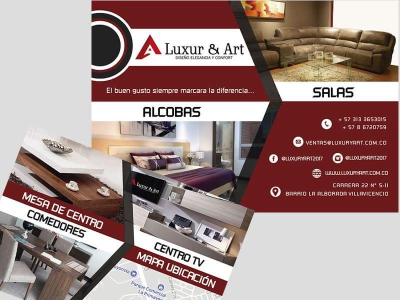 Diseño De Volantes Luxur y Art